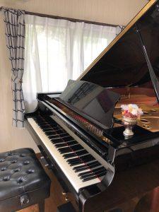 兵庫県神戸市藤原台のピアノ教室アンシャンテ音楽教室のレッスンルーム