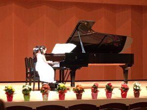 兵庫県神戸市藤原台のピアノ教室アンシャンテ音楽教室の発表会
