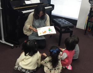 兵庫県藤原台のピアノ・リトミック教室アンシャンテ音楽教室